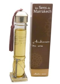 Fragrance oils 38 ml : Amber & Musk - Les Sens de Marrakech