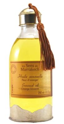 Sensual oil 250 ml - Orange blossom - Les Sens de Marrakech