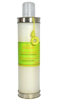 Body wash 250 ml - Mandarin aromatic / Les Sens de Marrakech