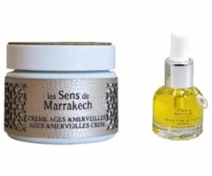 Anti-Aging Serum & Cream Duo / Les Sens de Marrakech
