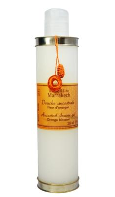 Body wash 250 ml - Orange blossom - Les Sens de Marrakech