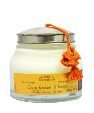 Melty Cocoon of Shea (200 gr) - Orange blossom / Les Sens de Marrakech