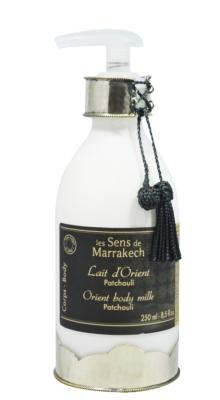Orient body milk 250 ml - Patchouli - Les Sens de Marrakech